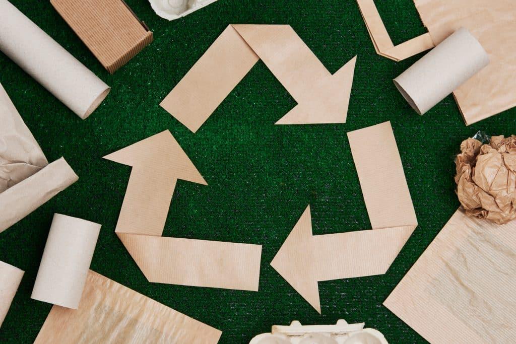 communication éco responsable, Une communication éco responsable avec le papier recyclé, TCH Réalisation